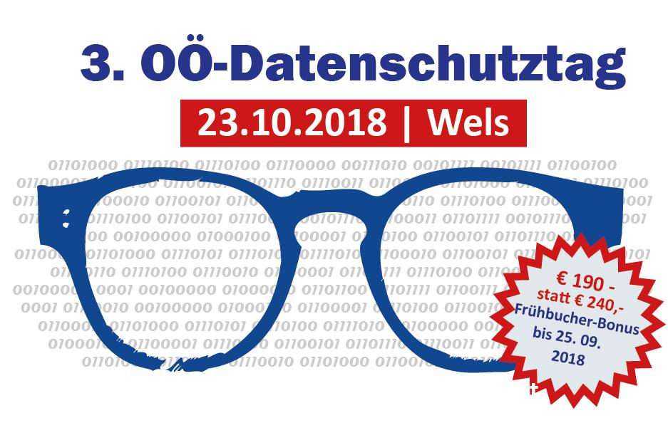 3. OÖ Datenschutztag | 23.10.2018, Wels.